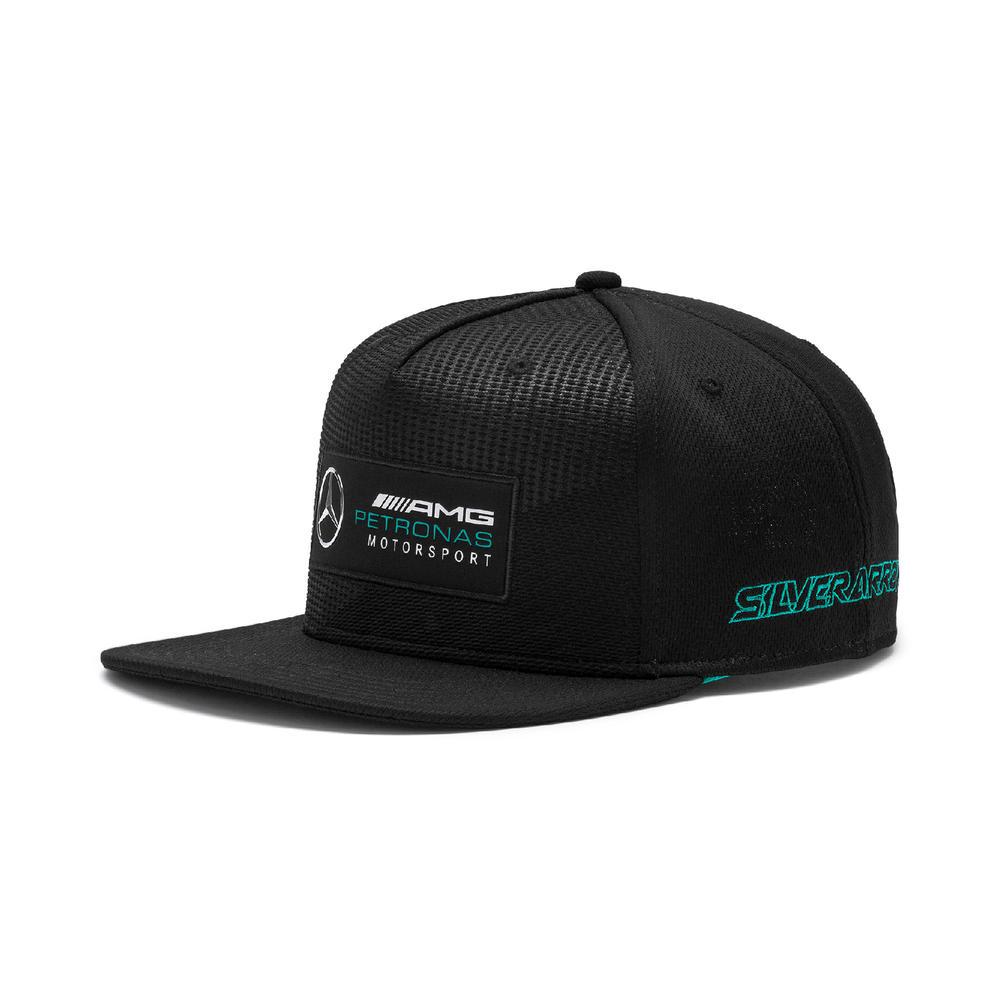 Mercedes AMG Petronas F1 Puma Baseball Cap Street Hat SILVER Adults One Size