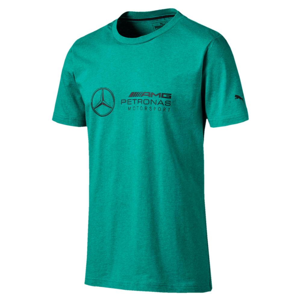Mercedes AMG Petronas F1 Puma Mens T-Shirt GREEN Tee Formula One Sizes XS-XXL