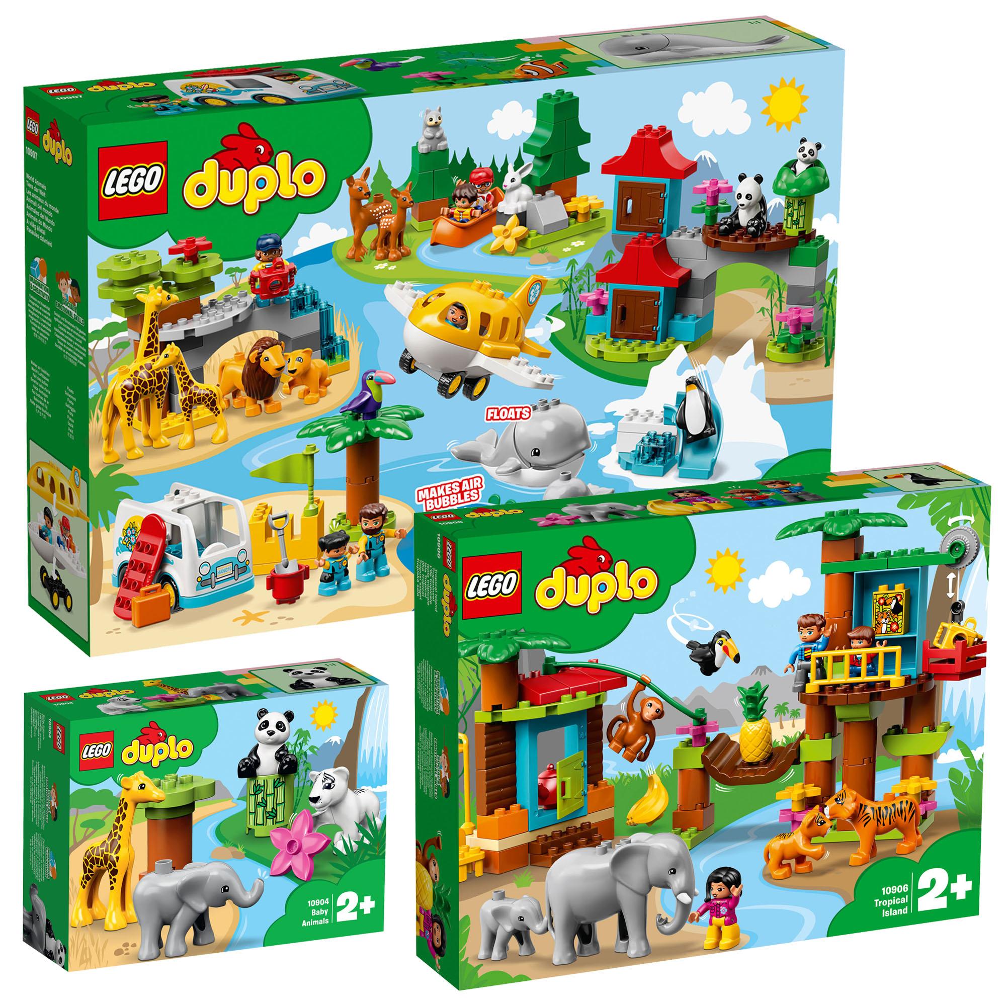 LEGO Duplo Town Zoo & Animals Adventure Combo Pack inc 3 ...