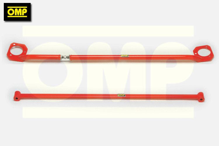 OMP FRONT & REAR STRUT BRACE FIAT UNO TURBO 1 3 1 4