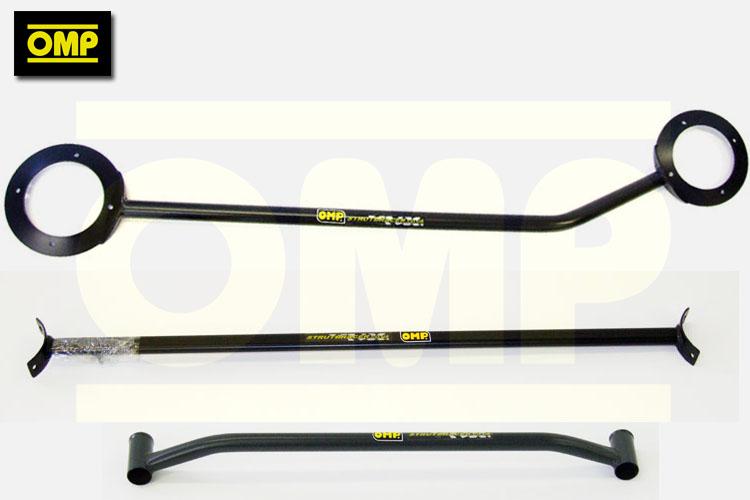 OMP ANTHRACITE STRUT BRACE PAIR BMW MINI GEN 1 R50 R52 R53