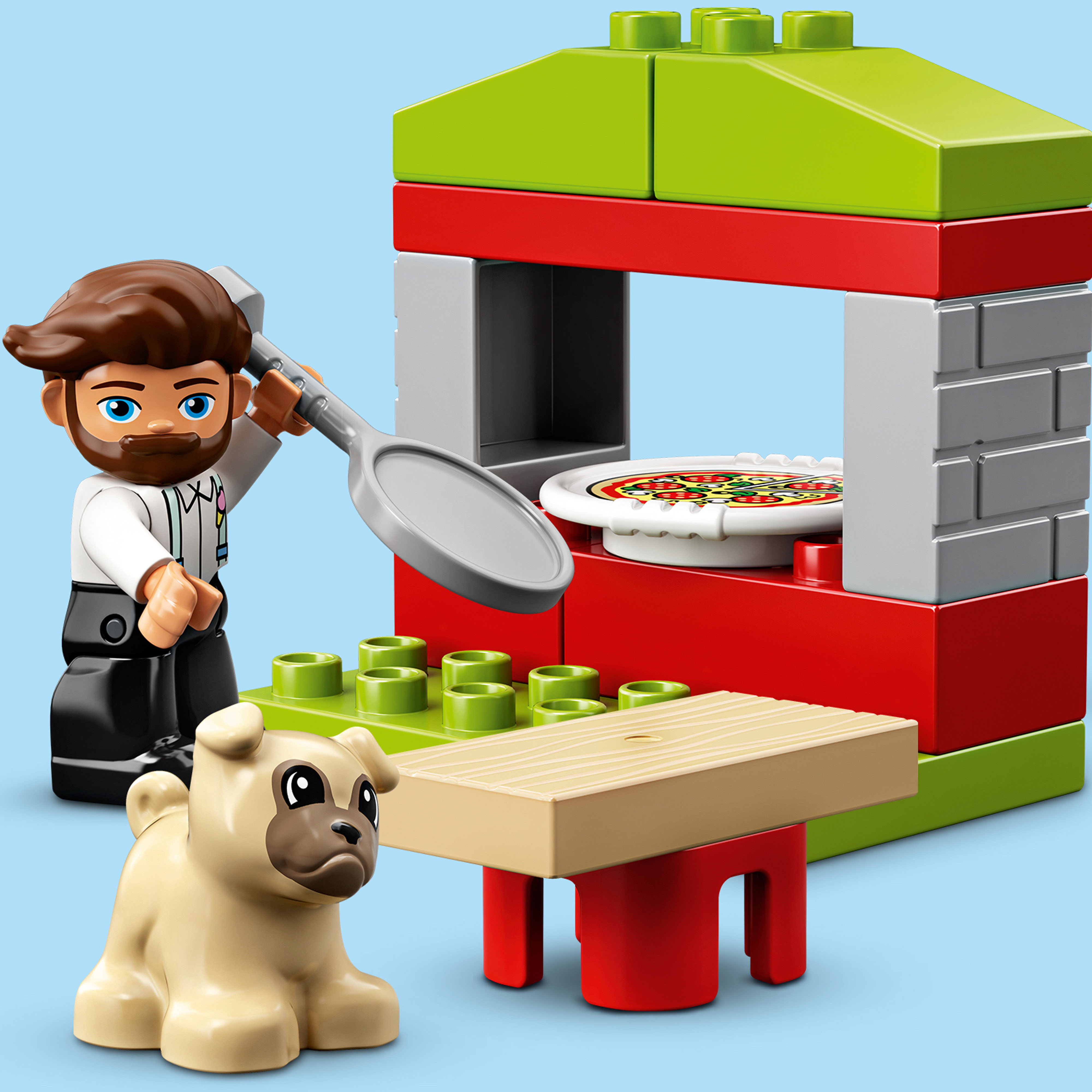 10927 LEGO DUPLO Town Pizza Stand 18 Pieces Age 2 Years+