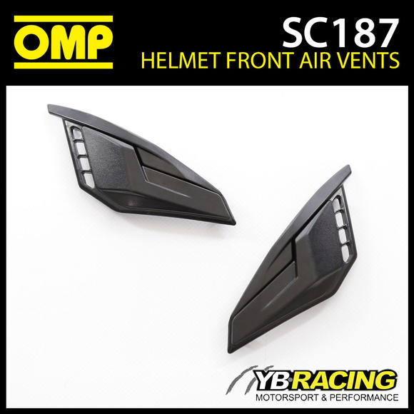 SC187 OMP Replacement Front Air Vents fits SC613 OMP Circuit EVO Helmet Genuine