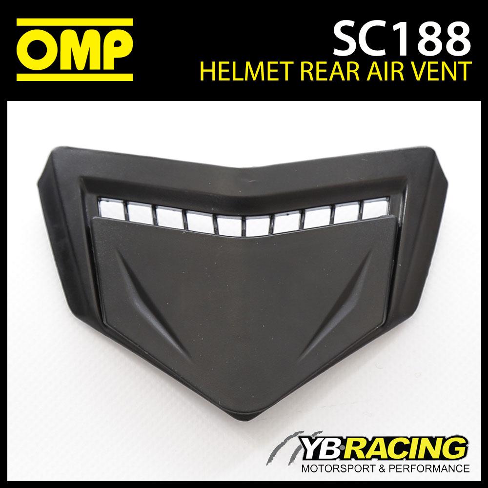 SC188 OMP Replacement Rear Air Vents fits SC613 OMP Circuit EVO Helmet Genuine