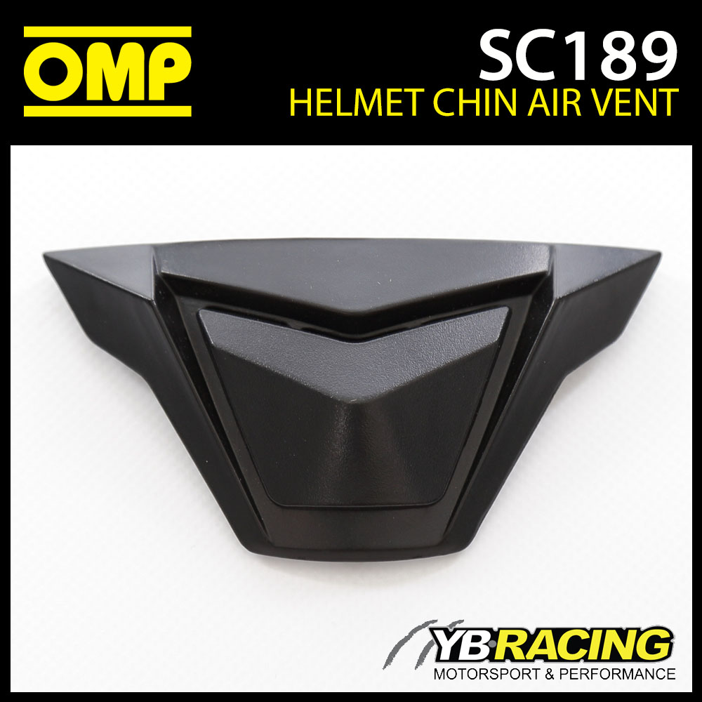 SC189 OMP Replacement Chin Air Vents fits SC613 OMP Circuit EVO Helmet Genuine