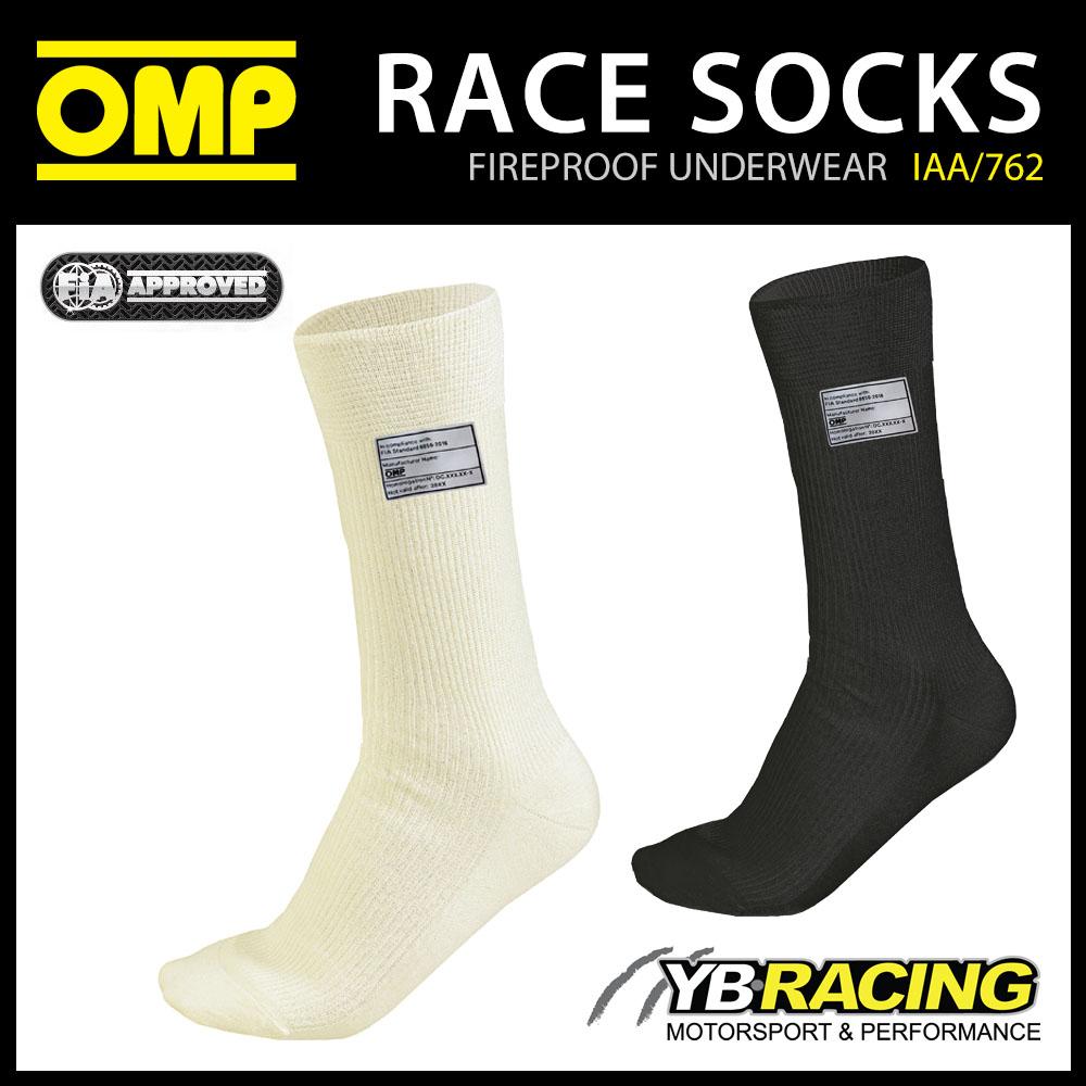 IAA/762 OMP FIREPROOF SOCKS FIA 8856-2018