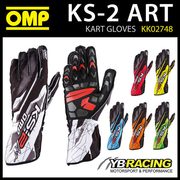 KK02748 OMP KS-2 ART KARTING GLOVES