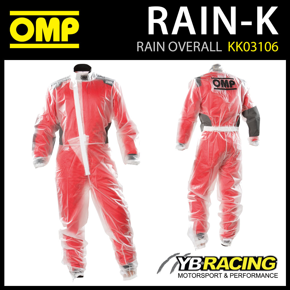 KK03106 OMP RAIN-K KART SUIT WATERPROOF OVERSUIT