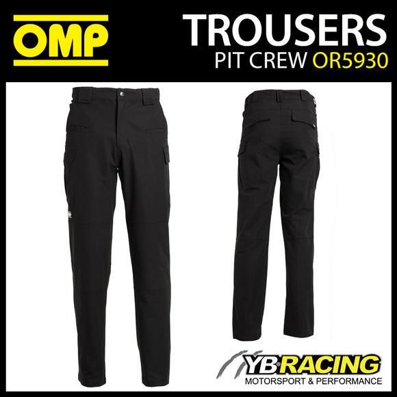 OR5930 OMP Race Mechanic's Technical Long Trousers Pitcrew Teamwear Motorsport