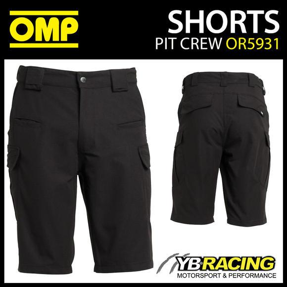 OR5931 OMP Race Mechanic's Technical Shorts Pitcrew Teamwear Motorsport