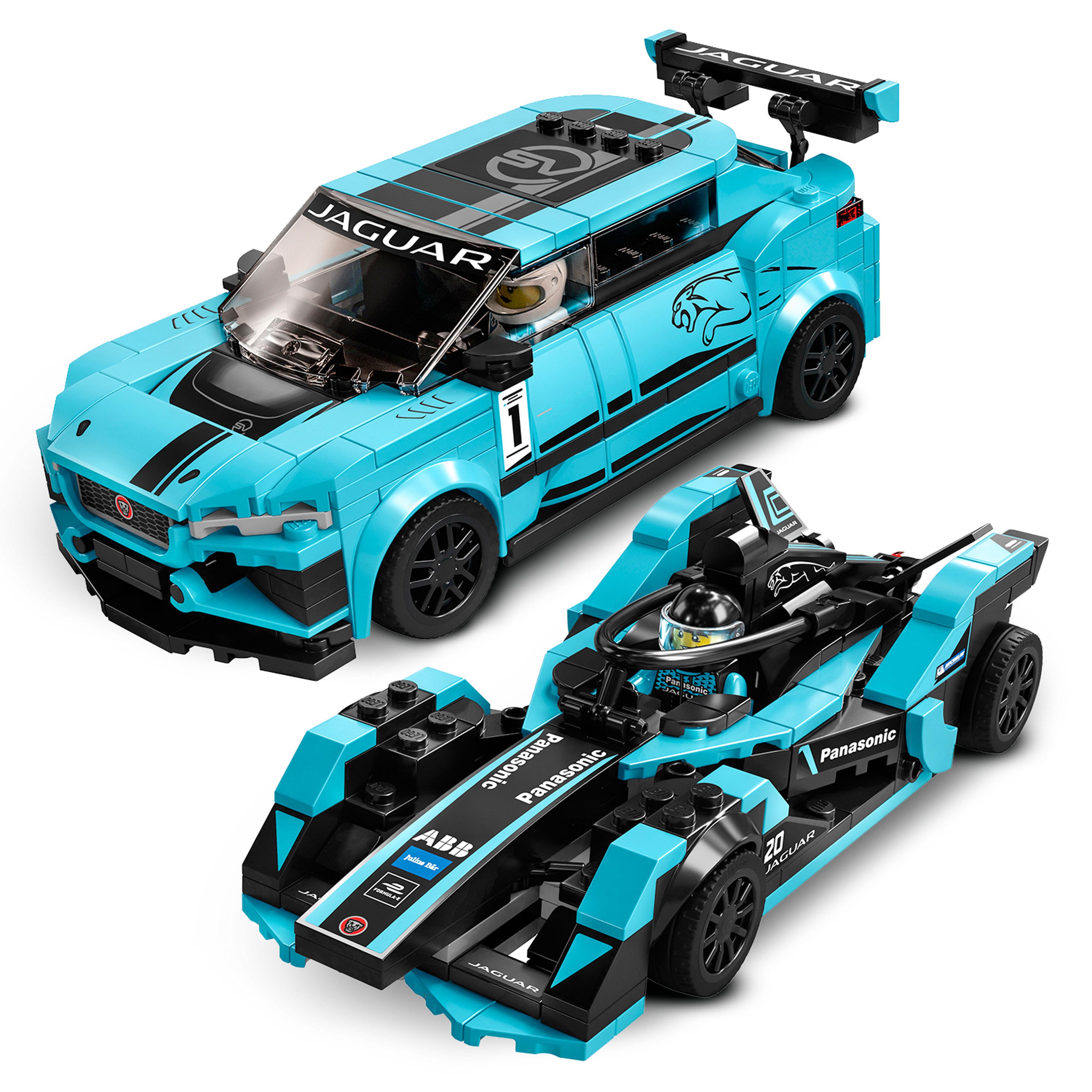 76898 LEGO Speed Champions Formula E Panasonic Jaguar Racing Gen2 C 565 Pieces