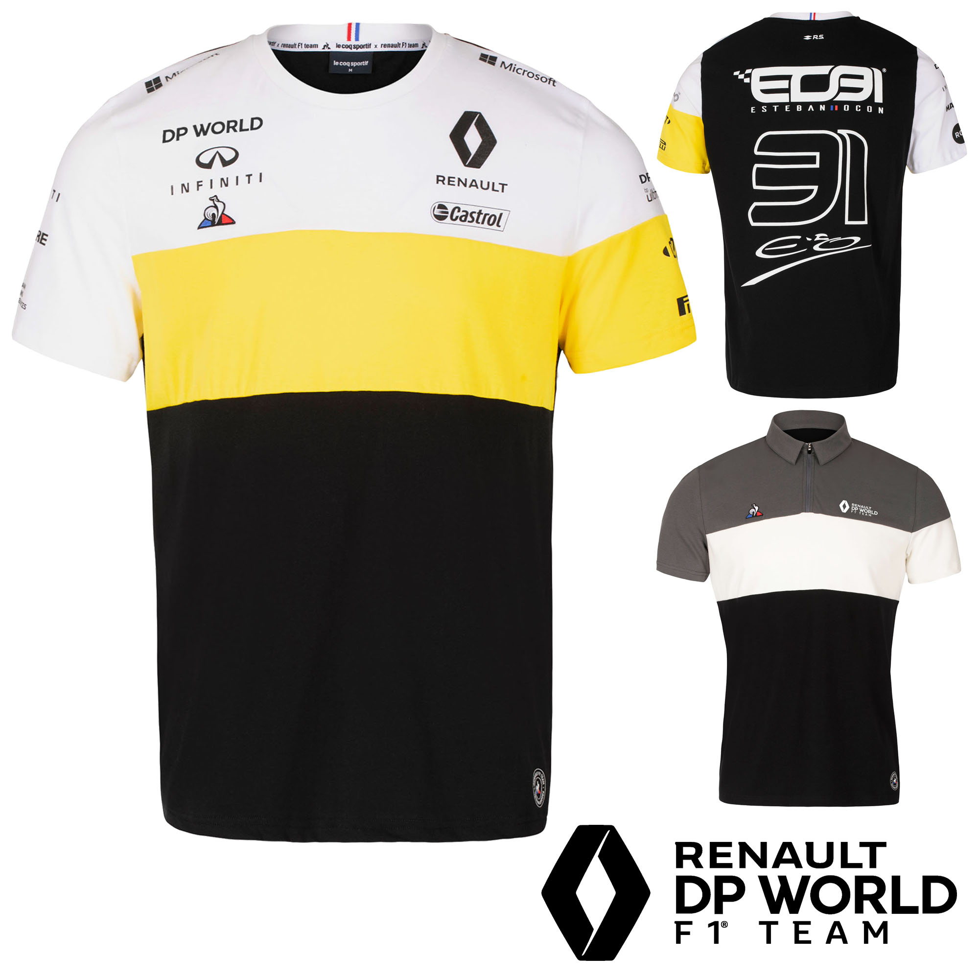 Renault F1 Team 2020 T-Shirts /& Polo Formule 1