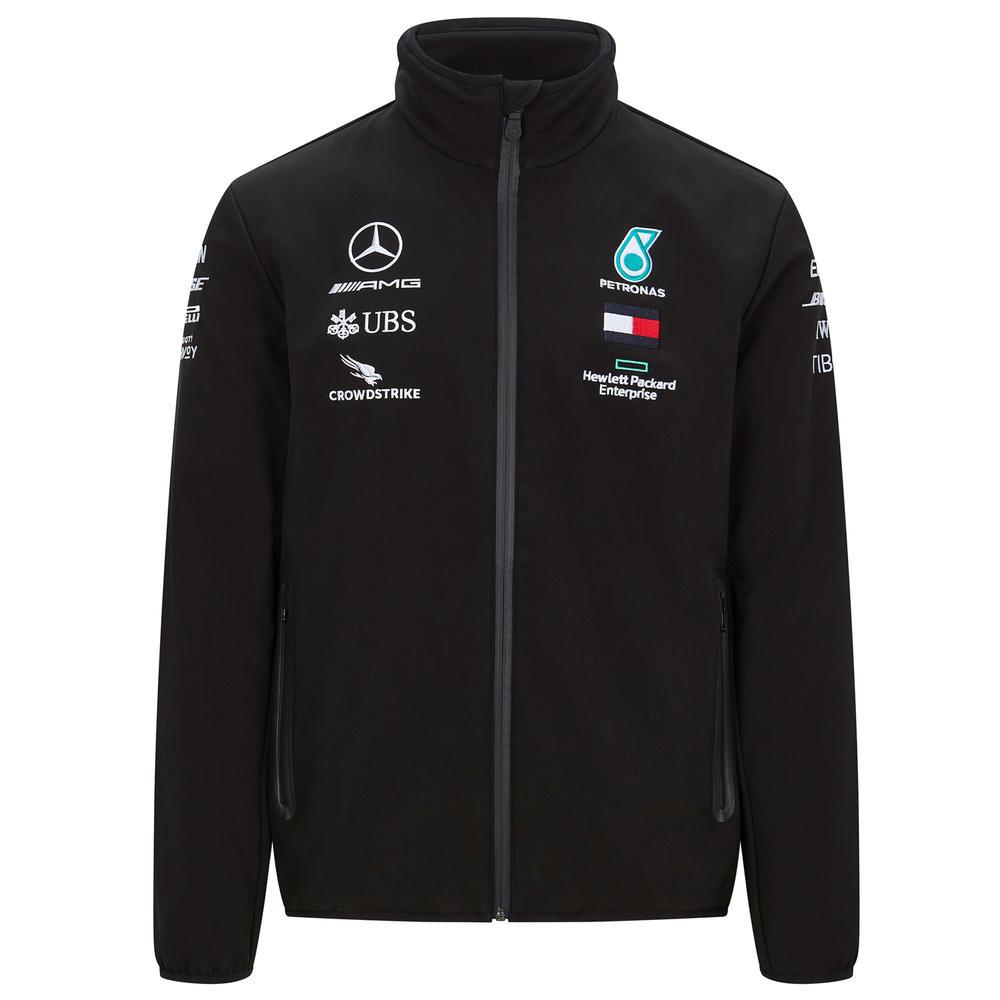 2020 Mercedes-AMG F1 Team Mens Softshell Jacket Official Merchandise Sizes S-XXL