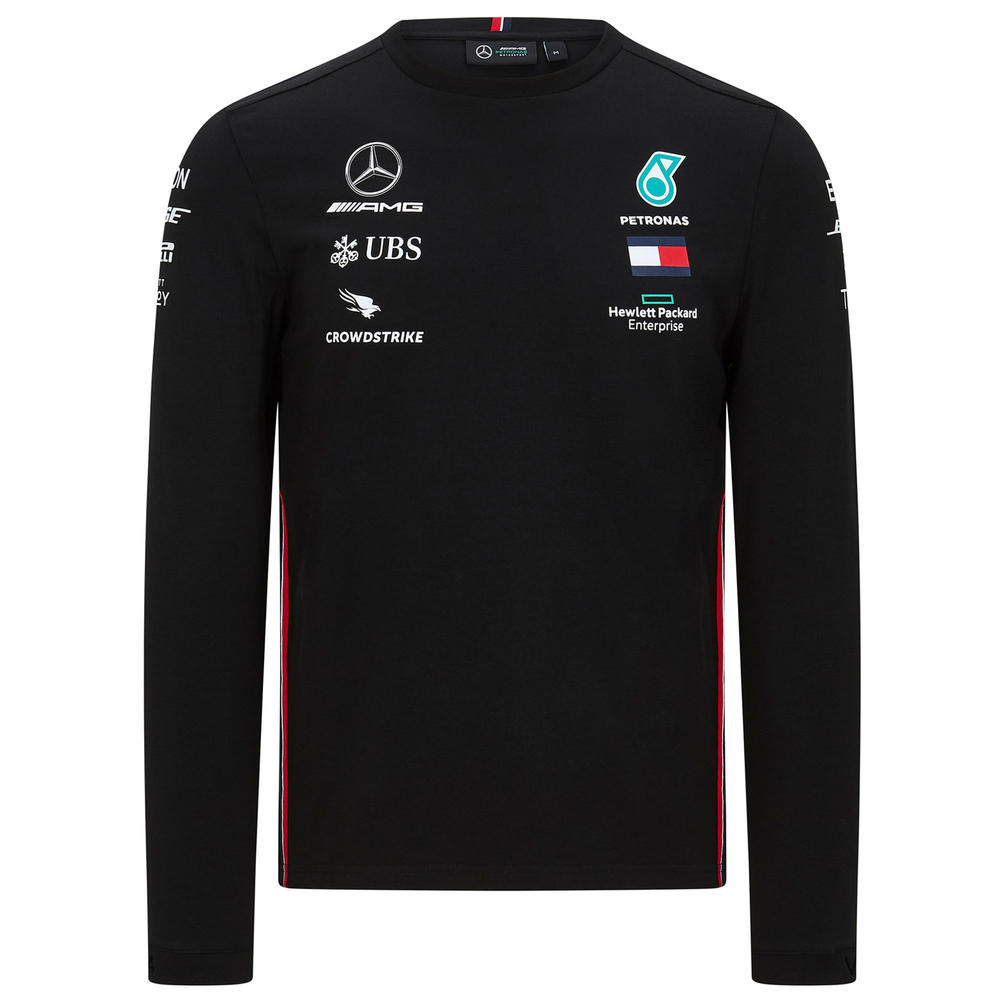 2020 Mercedes-AMG F1 Team Mens Long Sleeve Driver T-Shirt Sizes S-XXL