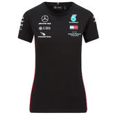 2020 Mercedes-AMG F1 Team Ladies Driver T-Shirt Official Merchandise Sizes XS-XL