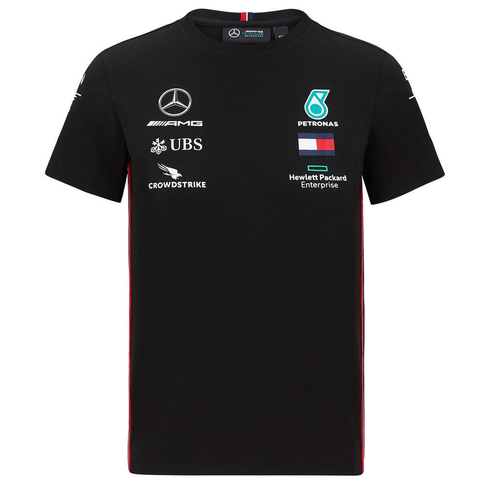 2020 Mercedes-AMG F1 Team Kids Driver T-Shirt Official Merchandise Sizes XS-XL