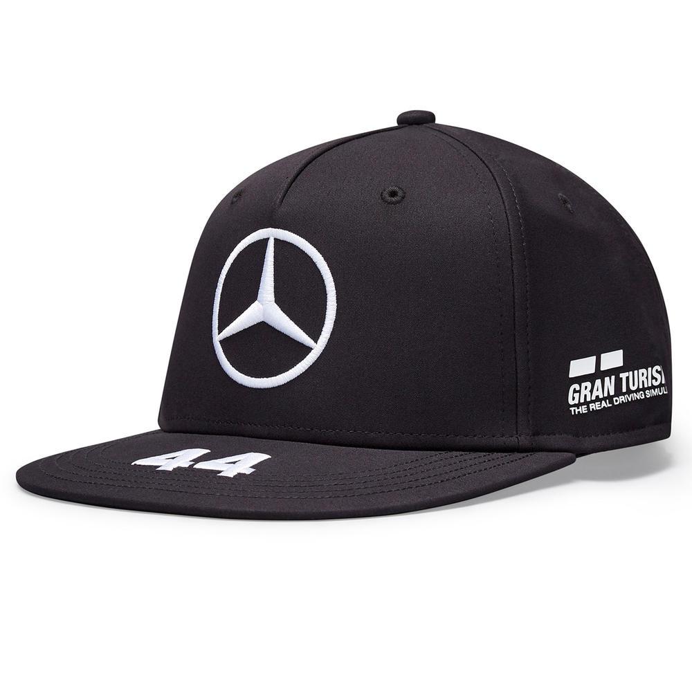 2020 Mercedes-AMG F1 Team Lewis Hamilton Driver Flatbrim Cap Adults Size