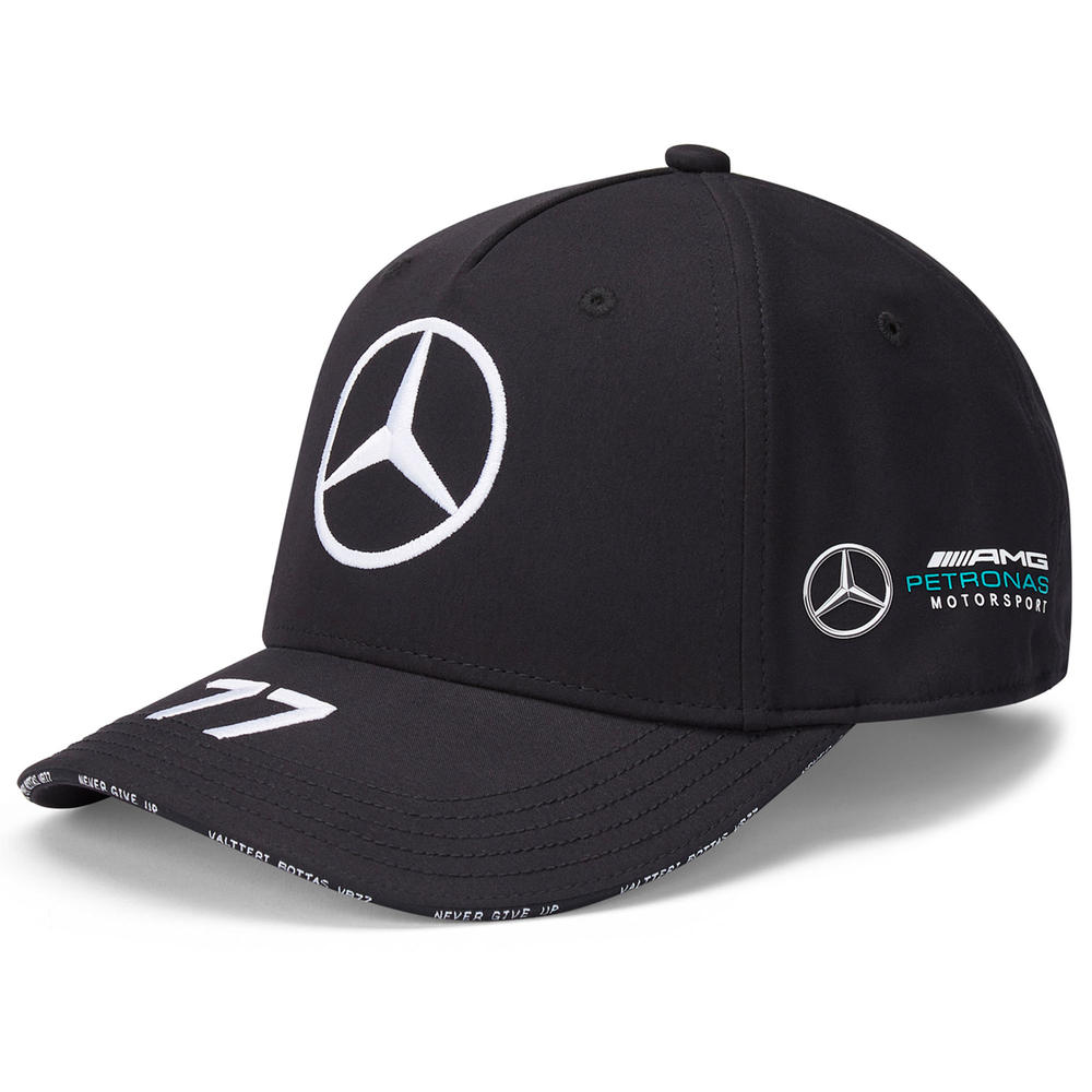 2020 Mercedes-AMG F1 Team Valtteri Bottas Driver Baseball Cap Adults Size
