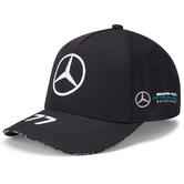 2020 Mercedes-AMG F1 Team Valtteri Bottas Driver Baseball Cap Adults Size