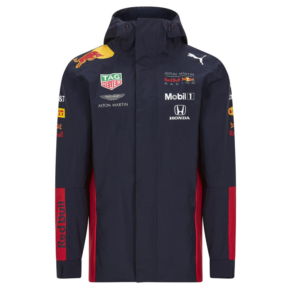 2020 Red Bull Racing F1 Team Mens Rain Jacket Official Merchandise Sizes S-XXL