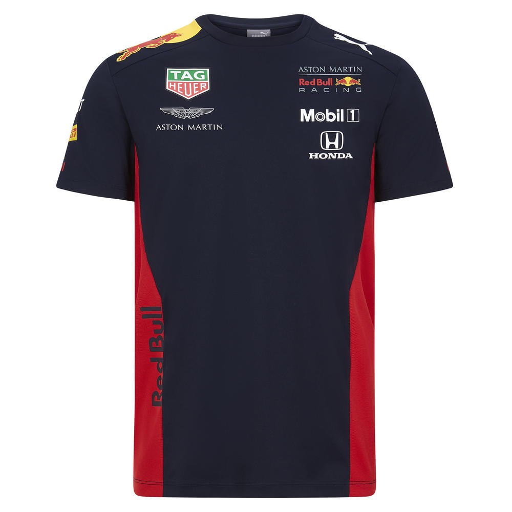 2020 Red Bull Racing F1 Team Mens Team T-Shirt Official Merchandise Sizes S-XXL