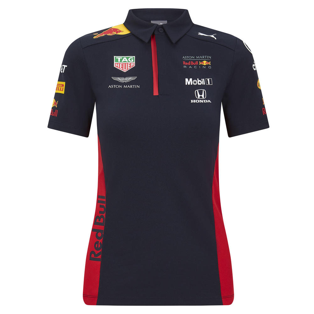 2020 Red Bull Racing F1 Team Womens Ladies Polo Shirt Merchandise Sizes XS-XL