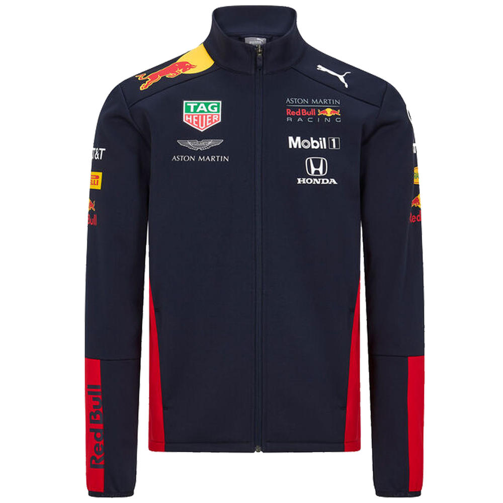2020 Red Bull Racing F1 Team Kids Childrens Softshell Jacket Official Size XS-XL