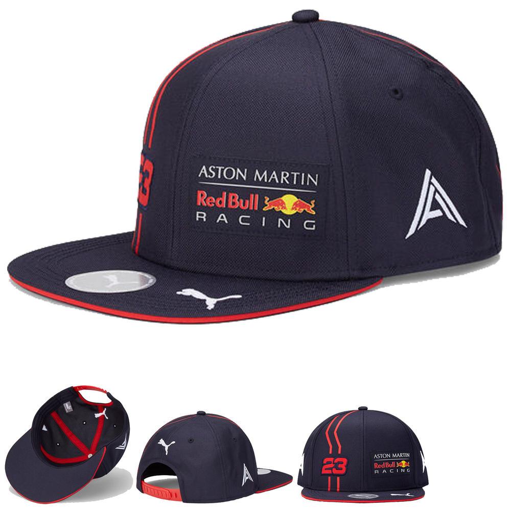 2020 Red Bull Racing F1 Team Baseball Flat Brim Cap Alex Albon Official Adults