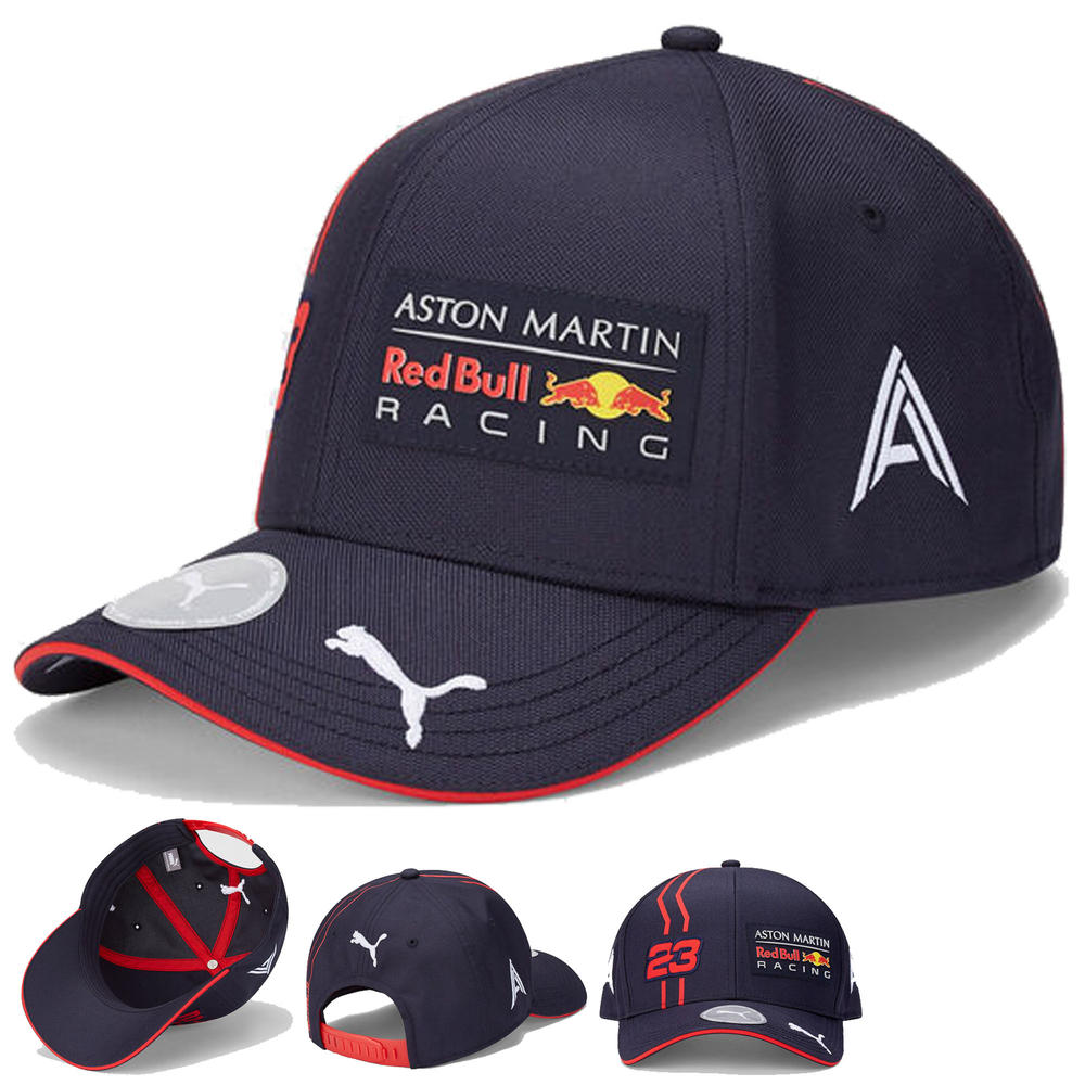 2020 Red Bull Racing F1 Team Baseball Cap Alex Albon Merchandise Adults Size