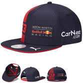 2020 Red Bull Racing F1 Team Flat Brim Cap Max Verstappen Merchandise Adult Size