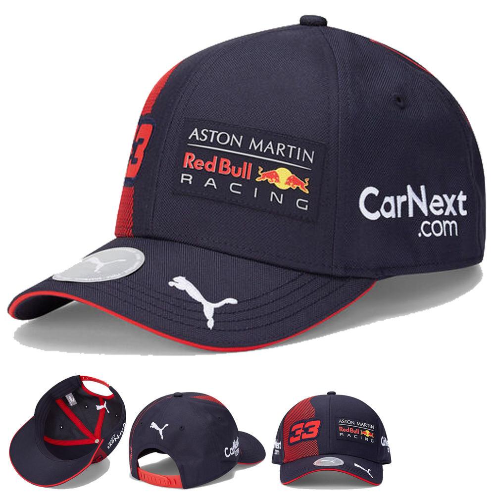 2020 Red Bull Racing F1 Team Baseball Cap Max Verstappen Merchandise Adults Size