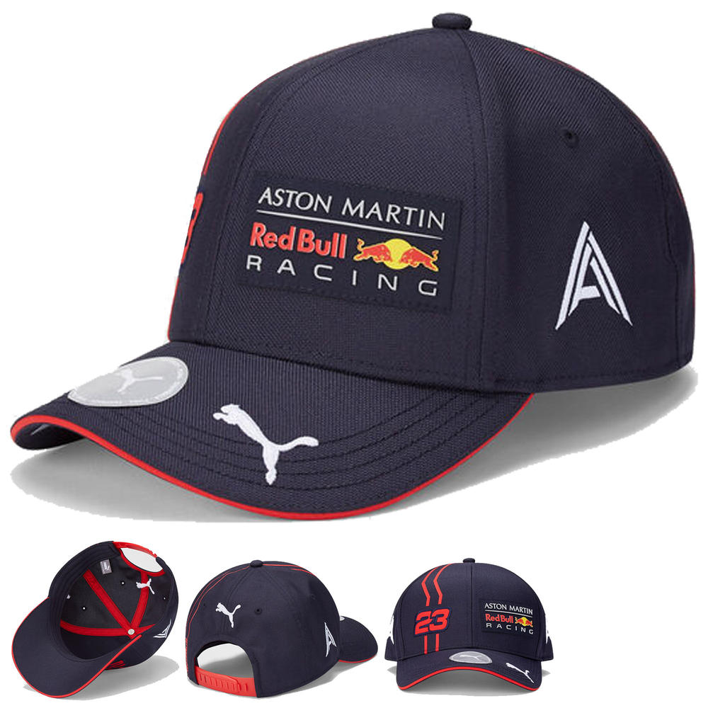 2020 Red Bull Racing F1 Team Baseball Cap Alex Albon Merchandise Childrens Size