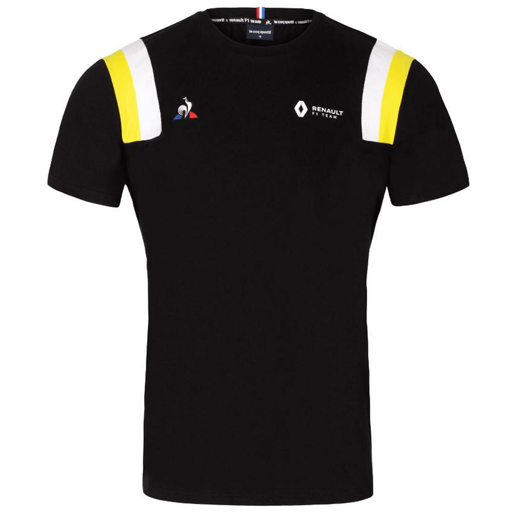 2020 Renault F1 Team Mens Tee Fanwear T-Shirt Black Official Merchandise S-XXL