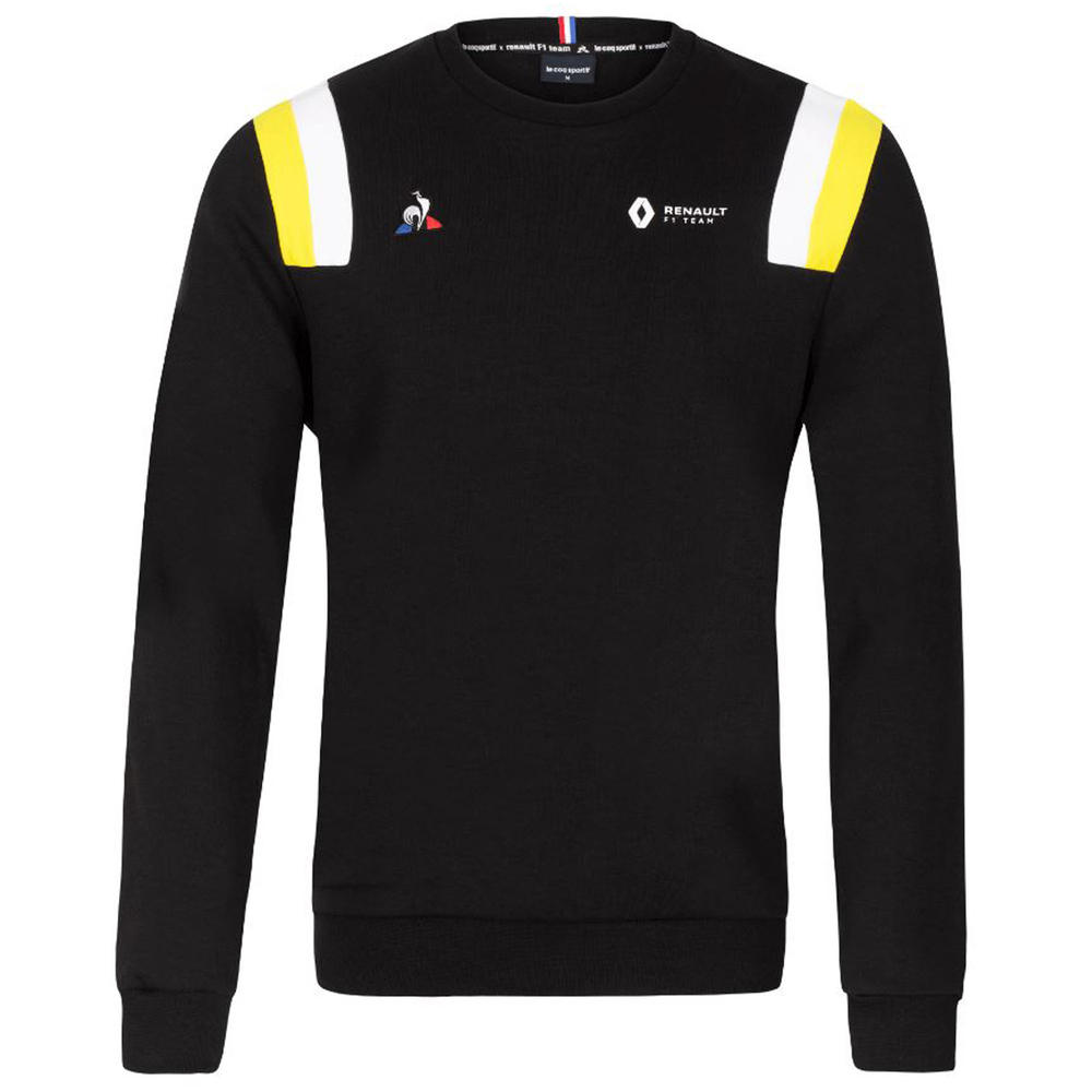 2020 Renault F1 Team Mens Fanwear Sweatshirt Black Official Merchandise S-XXL