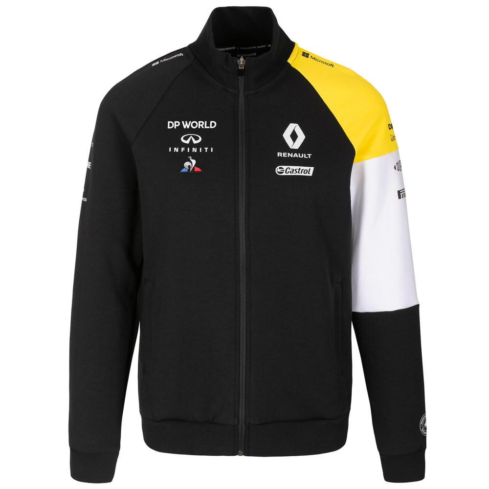 2020 Renault F1 Team Mens Full Zip Sweatshirt Jumper Official Merchandise S-XXL