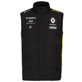 2020 Renault F1 Team Mens Body Warmer Gilet Black Official Merchandise S-XXL