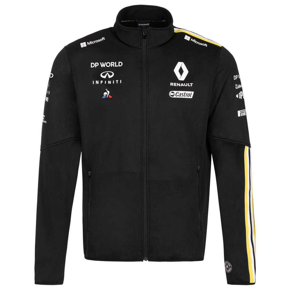 2020 Renault F1 Team Mens Softshell Jacket Black Official Merchandise S-XXL