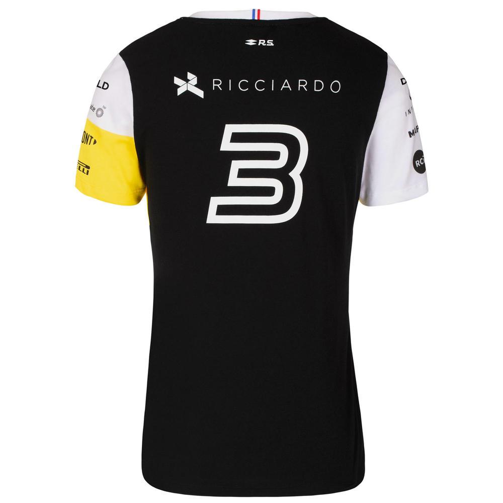 2020 Renault F1 Team Ladies Womens Ricciardo T-Shirt Official Merchandise XS-XL