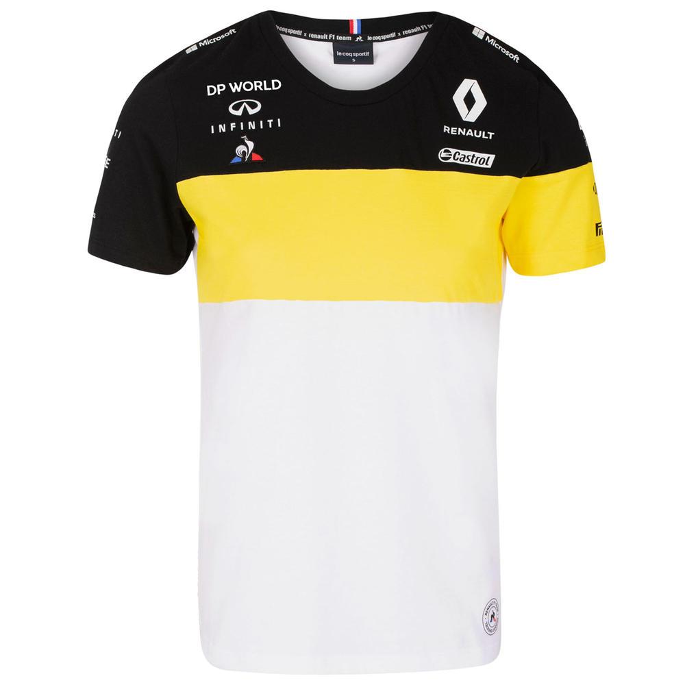 2020 Renault F1 Team Ladies Womens T-Shirt Tee White Official Merchandise XS-XL