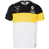 2020 Renault F1 Team Kids Childrens Team T-Shirt Tee White Official Merchandise