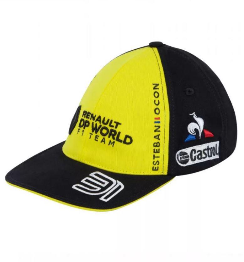 2020 Renault F1 Team Kids Childrens Baseball Cap Ocon Official Merchandise