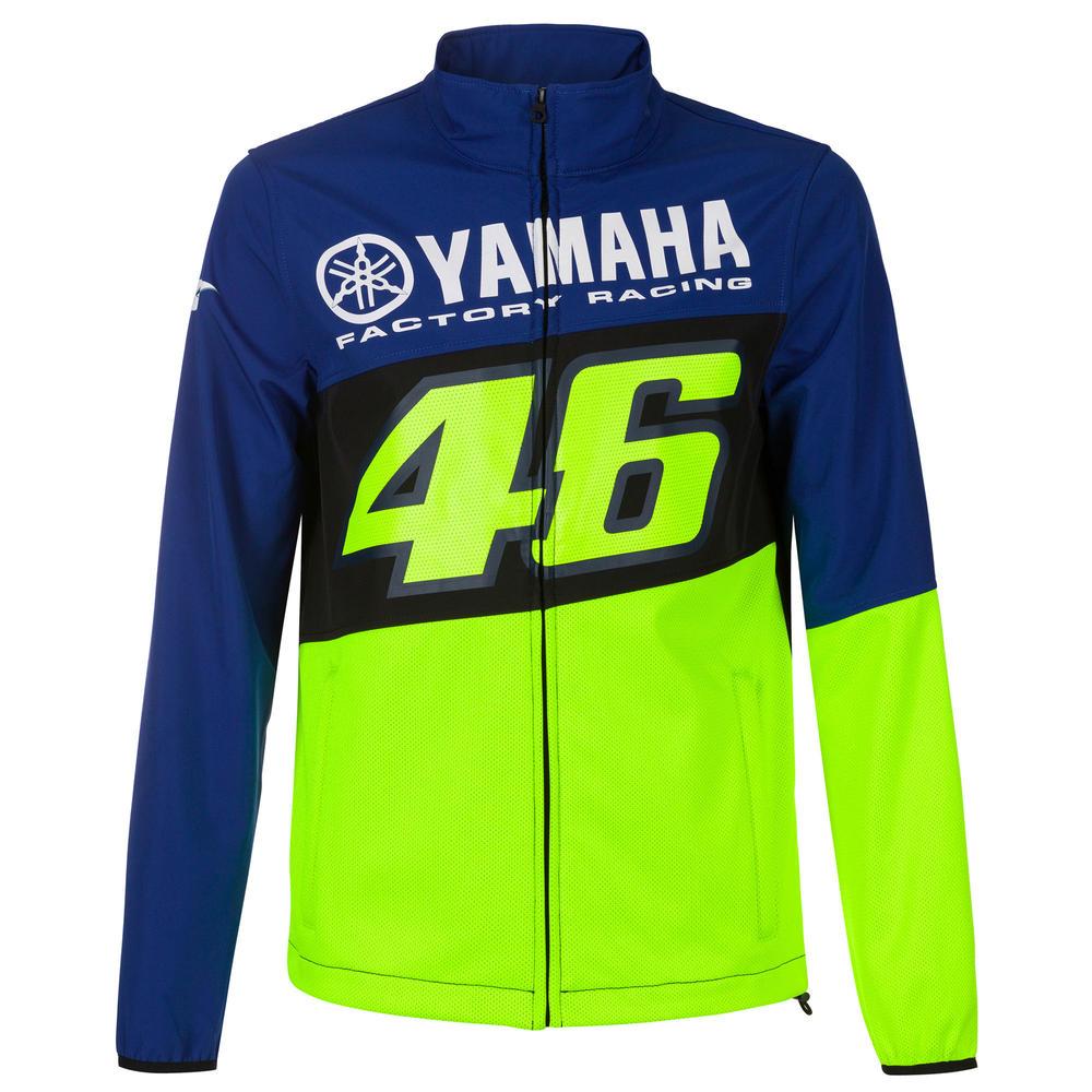 2020 Valentino Rossi Yamaha Racing Factory Mens Softshell Jacket Sizes S-XXL