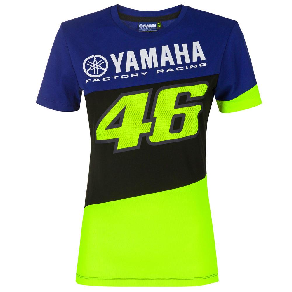 2020 Valentino Rossi Yamaha Racing Factory Womens Ladies T-Shirt Sizes XS-XL