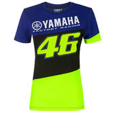 2020 Valentino Rossi Yamaha Racing Factory Womens Ladies T-Shirt Sizes XS-XL