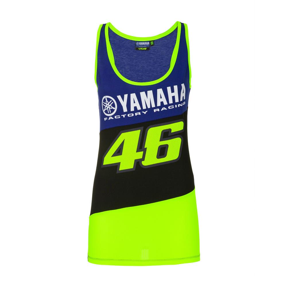2020 Valentino Rossi Yamaha Racing Factory Womens Ladies Tank Top Sizes XS-XL
