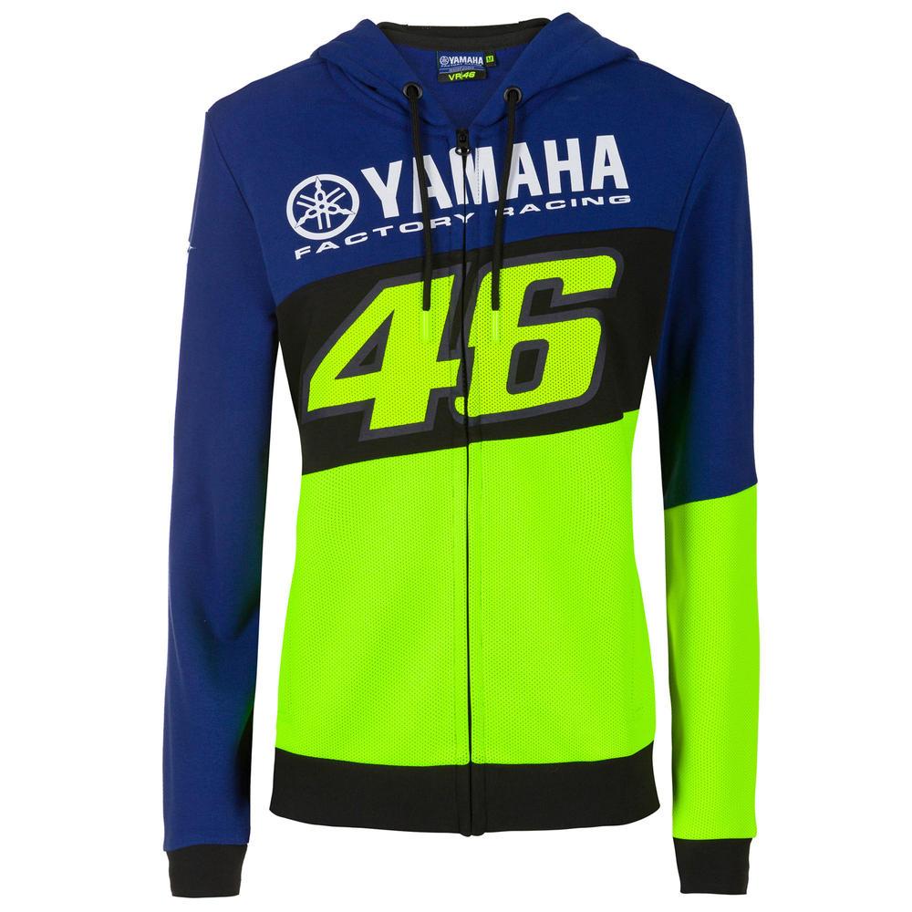 2020 Valentino Rossi Yamaha Racing Factory Womens Ladies Hoodie Sizes XS-XL