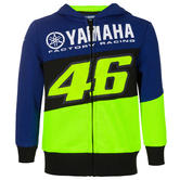 2020 Valentino Rossi Yamaha Racing Factory Kids Childrens Hoodie Ages 1-12