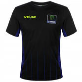 2020 Valentino Rossi Yamaha Racing Factory Mens T-Shirt Black Tee Sizes S-XXL