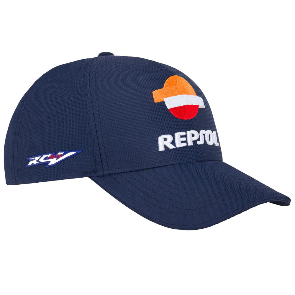 2020 Repsol Honda Team Replica Baseball Cap Blue Official MotoGP Merchandise Adults One Size