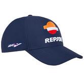 2020 Repsol Honda Team Replica Baseball Cap Blue Official MotoGP Merchandise Adults One Size